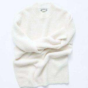 Zara SRPLS Ivory Sweater sz Small